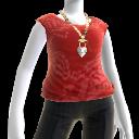 Tee-shirt «Cravate rouge»