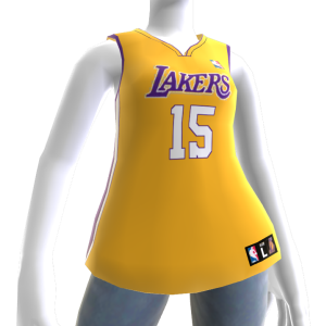 Los Angeles Lakers NBA2K11 Jersey