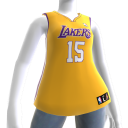 Los Angeles Lakers NBA2K11-Trikot 