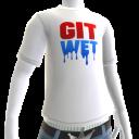 Git Wet Tee- White