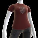 T-shirt avec logo Autobots gris