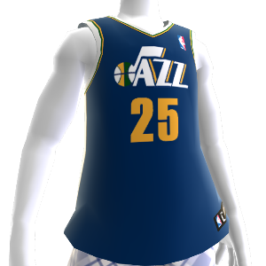 Camiseta NBA2K12 Utah Jazz