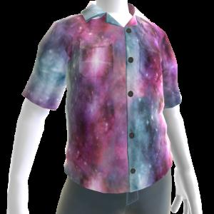 Galaxy Button Up Shirt