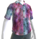 Galaxy Button Up Shirt