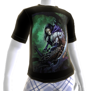 Darksiders II Joe Mad artwork shirt