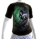 Camiseta con ilustración de Joe Mad de Darksiders II