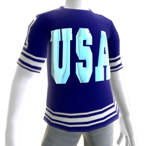USA Soccer Jersey Chrome
