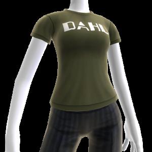Camisa com logótipo Dahl