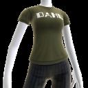 Camiseta con logotipo de Dahl