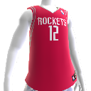 Maillot NBA2K12 Houston Rockets