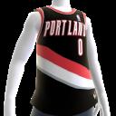 Portland Blazers NBA 2K14 Jersey