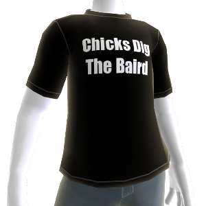 T-shirt do Baird 