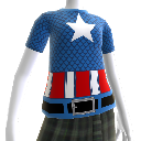 Captain America Costume Tee