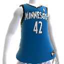 Minnesota T&#39;wolves NBA 2K13-shirt