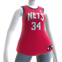New Jersey Nets NBA2K11 Jersey 