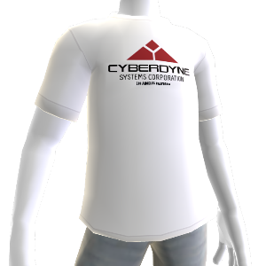 Cyberdyne-Logo-Shirt  wei