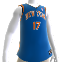 La Jersey de los New York Knicks #17 NBA2K12