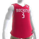 Colete NBA2K10: Houston Rockets