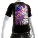 Epic Laser Cat 3 Galaxy T-Shirt
