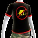 Epic No Camping Red Trim Shirt