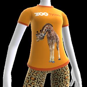 Camiseta de jirafa de Zoo Tycoon