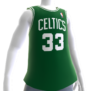 Celtics 85-86 Retro NBA 2K13 Jersey