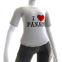 T-shirt - I &#39;heart&#39; Panau