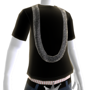 Black Diamond Cuban Link (Black Tee)