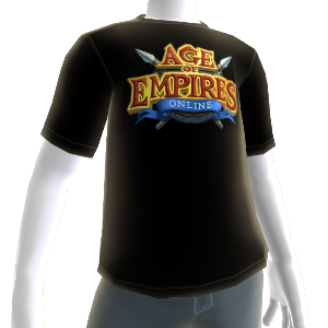 Camiseta do 1º Aniversário do Age of Empires