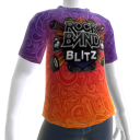 Rock Band Blitz Psychedelishc shirt
