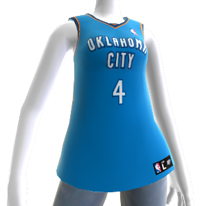 Oklahoma City Thunder NBA2K12-Trikot