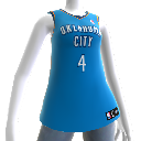 Maillot NBA2K12 Oklahoma City Thunder