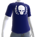 T-shirt Ultramarine crne couronn 