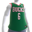 Milwaukee Bucks NBA2K11-Trikot 