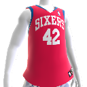 Philadelphia 76ers NBA2K12 Jersey