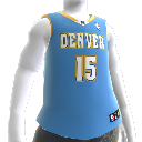 Denver Nuggets NBA2K10-Trikot