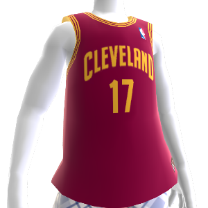 Cleveland Cavaliers NBA 2K13 Jersey