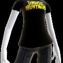 언데드 나이트메어 로고 티셔츠