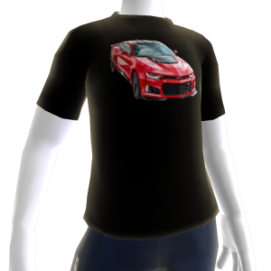 2017 Camaro ZL1 Black Tee 2