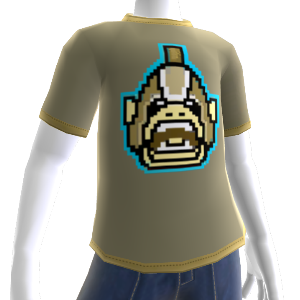 T-shirt Orc 8-bit