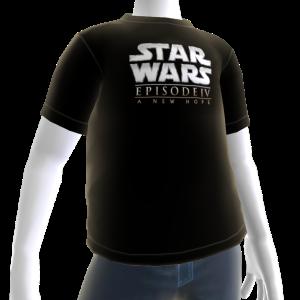 Camiseta Star Wars: Una Nueva Esperanza