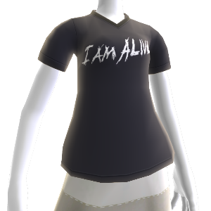 "T-shirt ""I Am Alive"""