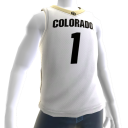 Colorado Basketball Home Jersey