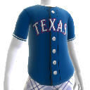 Maglia Texas Rangers MLB2K11 