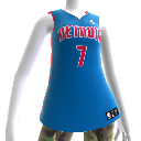 Detroit Pistons NBA2K12-Trikot