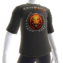 Camiseta com logotipo Arm of Orion