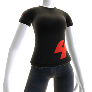 Black Forza Motorsport 4 T-Shirt