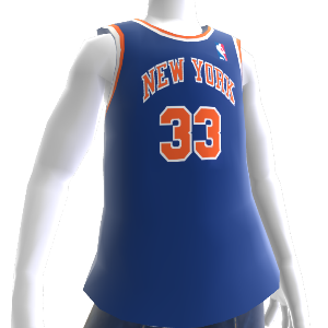Knicks 94-95 Retro NBA 2K13 Jersey