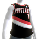 Portland Trail Blazers NBA2K11-Trikot 
