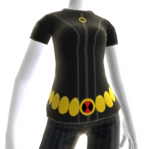 Black Widow Costume Tee